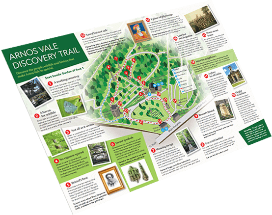A thumbnail view of the downloadable Discovery trail document