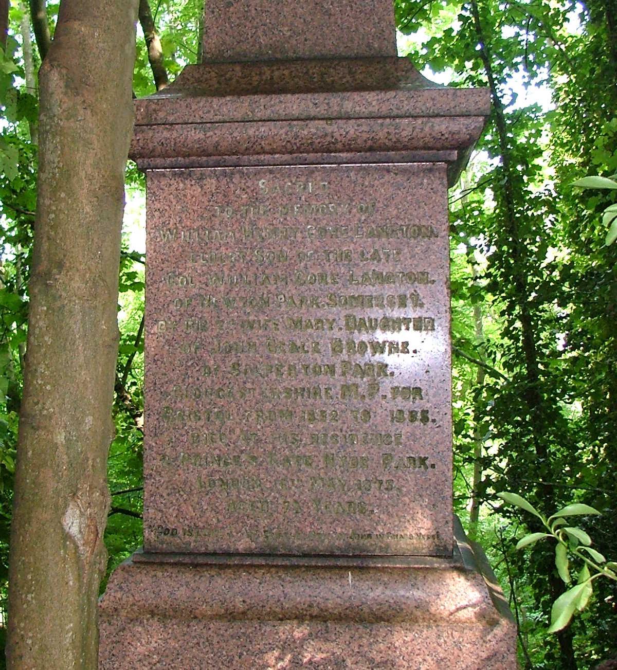 heritage-william-langton inscription
