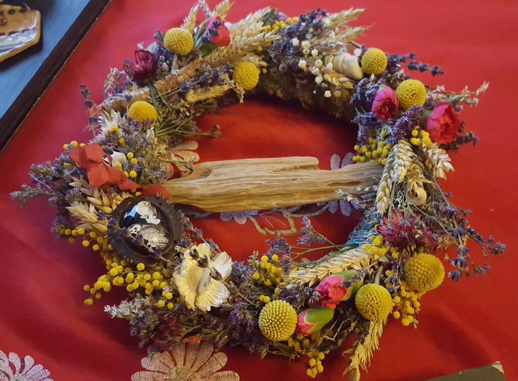 Christmas Wreath Making With Floriography Arnos Vale
