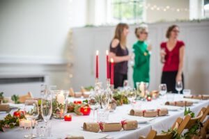 Christmas lunch at Arnos Vale