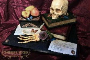 Memento Mori cake from Conjurers Kitchen