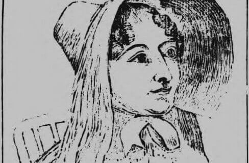 Sketch of Mary Burdock