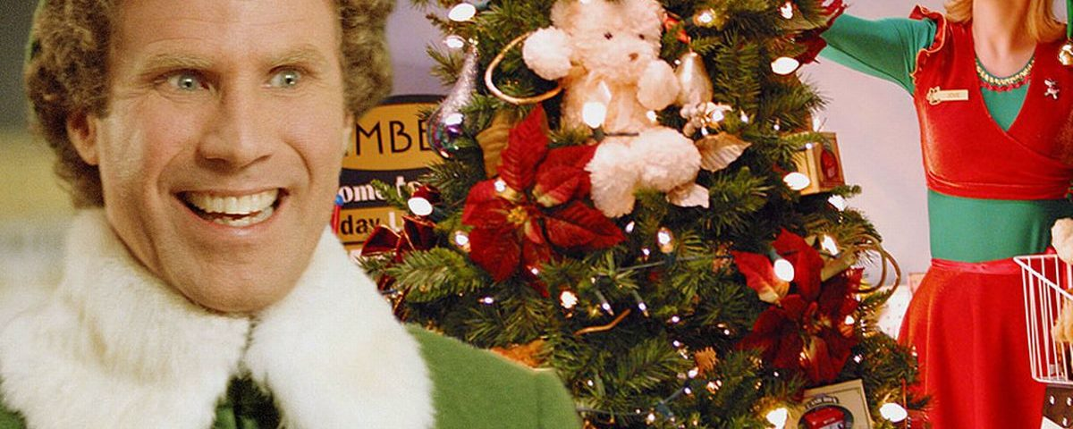 Elf and Christmas Tree