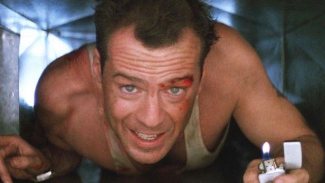 Bruce Willis in Die Hard the film