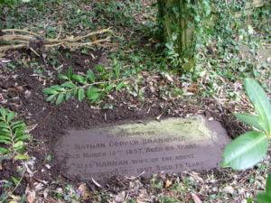 Charles Braithwaite grave at Arnos Vale