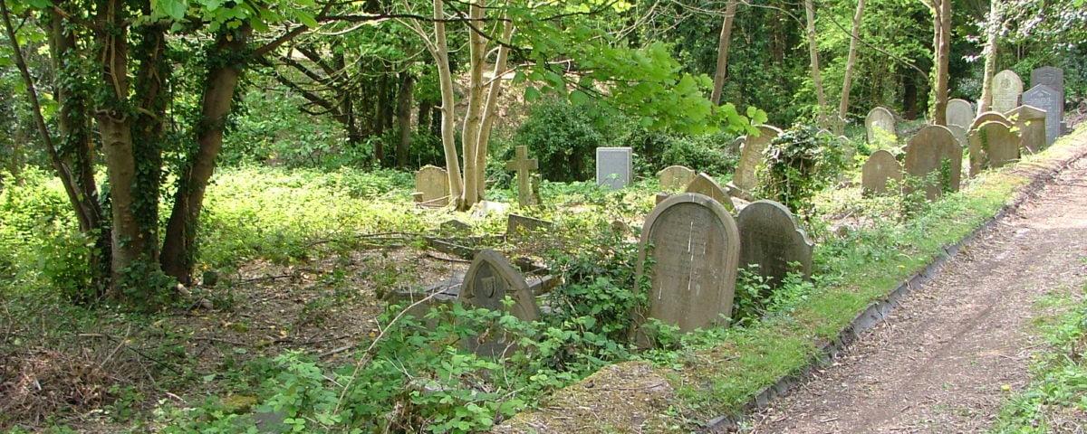 Graves at Arnos Vale