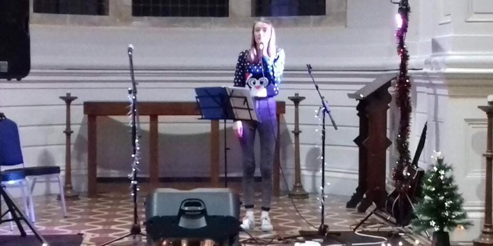 Elle Ashwell showcase in the Anglican Chapel