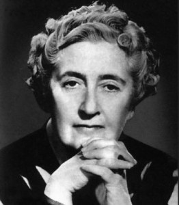 Author Agatha Christie White women short hair staring directly into camera